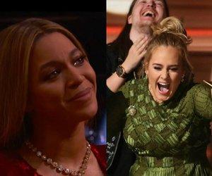 Adele, emotion, and grammy image