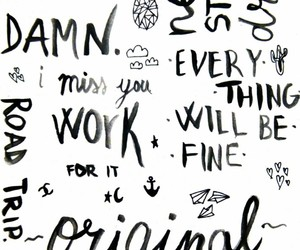 black&white, caligraphy, and frases image