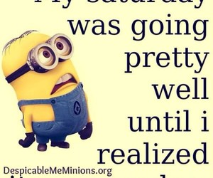 minions, funny, and Sunday image