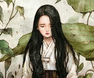 art, hanbok, and aeppol image