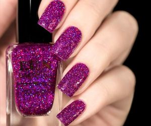 nails, beauty, and girls image