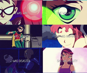 robin, teen, and titans image