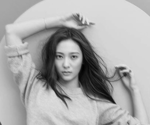 black and white, icons, and krystal jung image