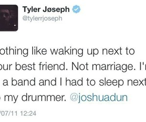 tyler joseph, twenty one pilots, and josh dun image