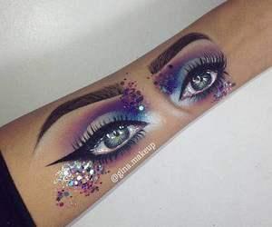 amazing, eyes, and arm image