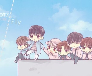 got7, chibi, and fly image