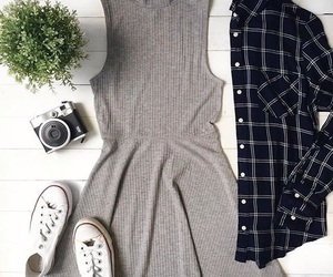 dress, outfit, and casual image