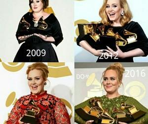 Adele, celebrities, and grammy awards image