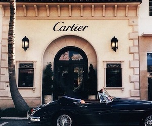cartier, car, and luxury image