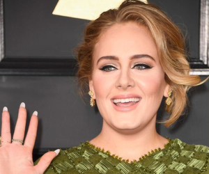 Adele, grammys, and green image