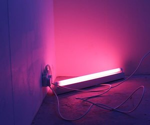 ligth and pink image