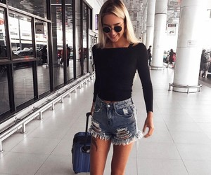 fashion, travel, and outfit image