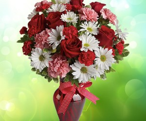 beautiful, flowers, and bouquets image