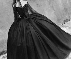 black, dress, and emo image