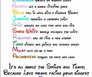 disney, princess, and quotes image