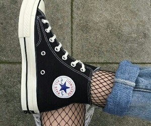 converse all star and shoes image