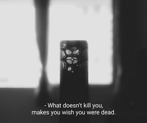 aesthetic, dark, and quotes image
