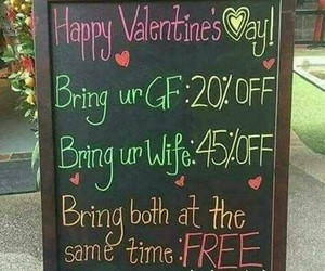 funny, joke, and Valentine's Day image