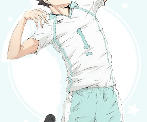 wallpaper, haikyuu, and oikawa image