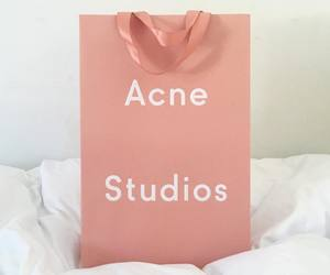 pink, acne studios, and acne image