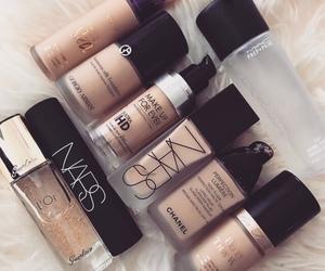 makeup, Foundation, and nars image