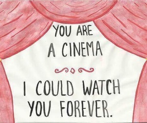 cinema, love, and quotes image