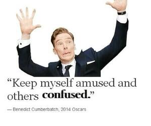 benedict cumberbatch and quote image