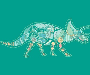 dinosaurs and header image