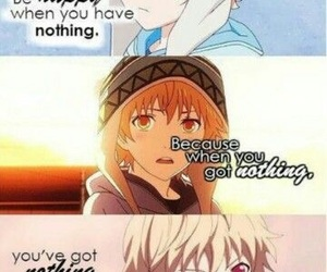 anime, noragami aragoto, and cry image