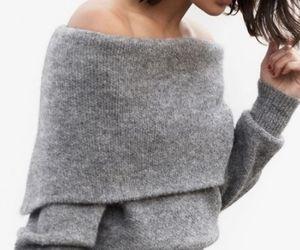 fashion, grey, and dress image