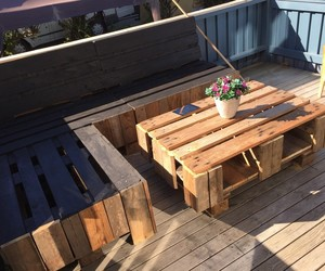 pallets, pallet diy, and pallet projects image