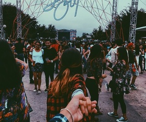couple, festival, and goals image