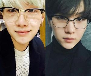 glasess, handsome, and k-pop image