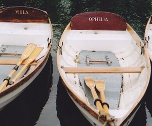 boat, ophelia, and viola image