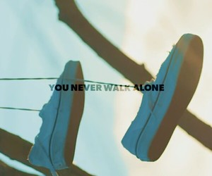 bts and you never walk alone image