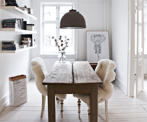 books, dining room, and elephants image
