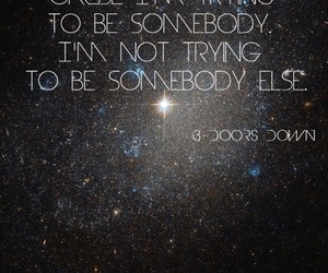 lyric, song, and 3 doors down image