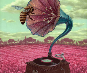 art and bee image
