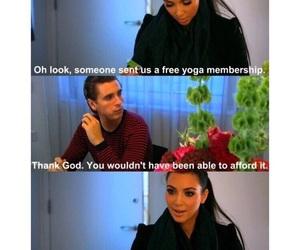kim kardashian, funny, and lol image