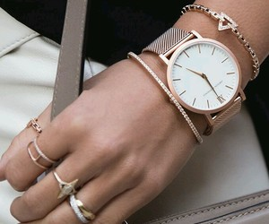 watch, accessories, and rings image