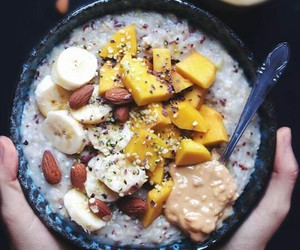 breakfast, food, and banana image