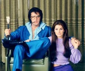 elvis, priscilla presley, and Elvis Presley image