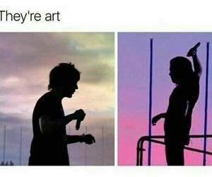 art, sunset, and louis tomlinson image
