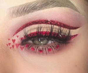 makeup and valentines image
