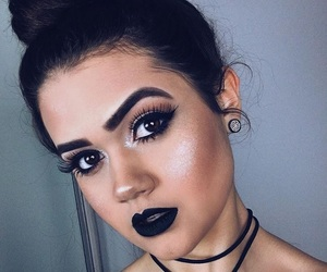 makeup, francinyehlke, and girl image
