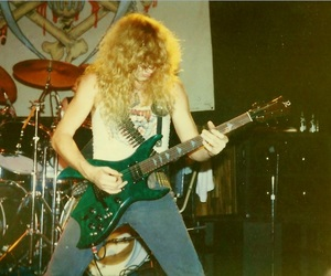 dave mustaine, megadeth, and trash metal image