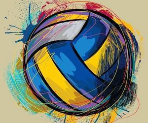 volleyball, life, and sport image