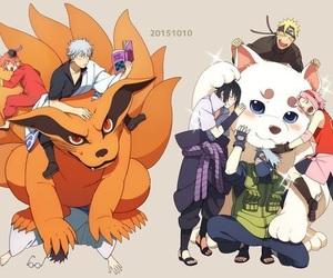 naruto, anime, and gintama image