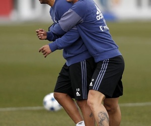 real madrid, marcelo vieira, and james rodriguez image