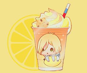 drink, lemon, and yuri!!! on ice image